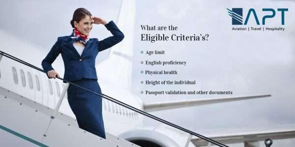 air hostess eligibility