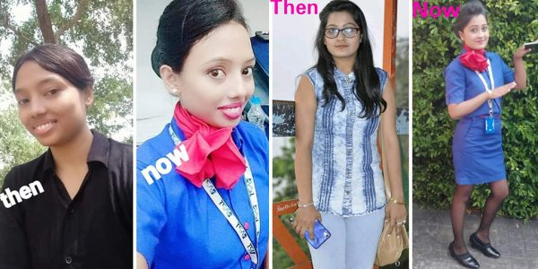 cabin crew then and now